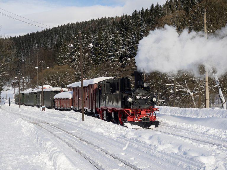 Preßnitztalbahn Winter